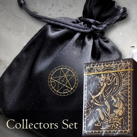 Culminus Infernum Playing Cards RARE Number Sealed + Collectors Pouch