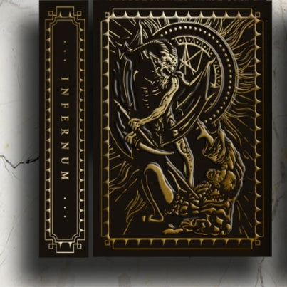 Culminus Playing Cards Volume 3 Darkness Rare Infernum LTD Edition
