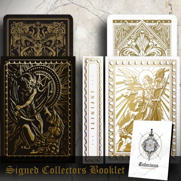 Culminus Playing Cards Volume III Rare 2 Deck Set + Signed Booklet