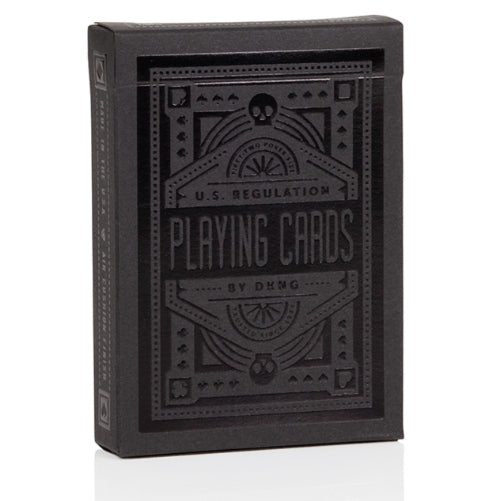 DKNG Black Wheel Playing Cards Deck by Art of Play Limited Edition