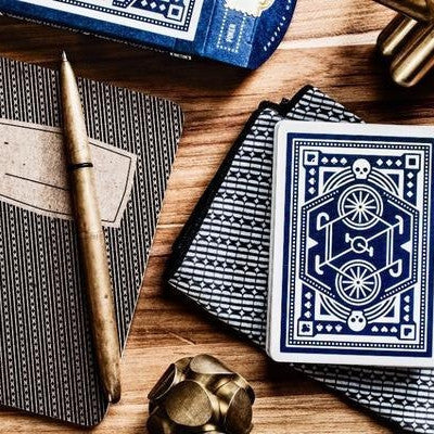 DKNG Blue Wheel Playing Cards Deck by Art of Play Brand New & Sealed
