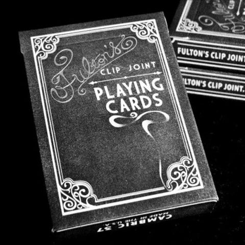 Fulton's Clip Joint Playing Cards Deck Dan & Dave Poker
