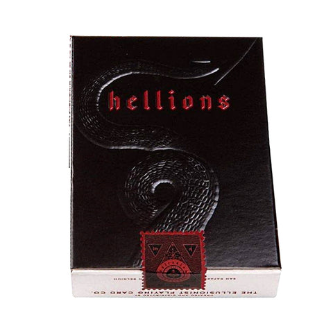 Madison Hellions Playing Cards Black Edition Ellusionist