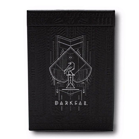 Buyworthy:Darkfall Playing Cards Deck Embossed Tuck Case Street Art Poker Magic Brand New