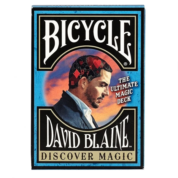 David Blaine Playing Cards Learn Card Tricks Discover Magic Deck with 5 effects