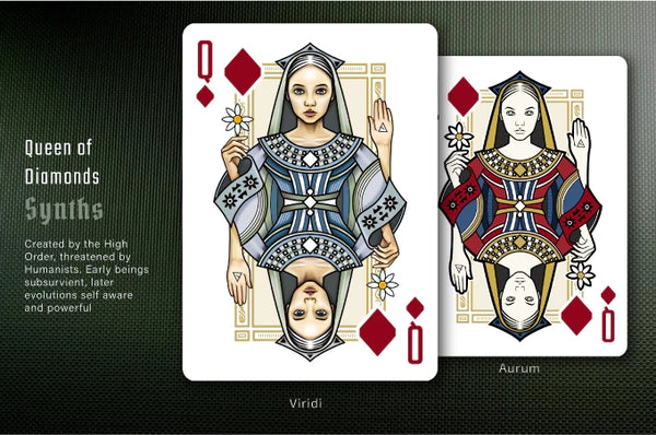 De Novo Playing Cards Red Aurum Edition United Cardists (UC) 2018