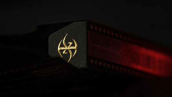 Master Series Dark Lordz Playing Cards De'Vo Red Foil Limited Edition
