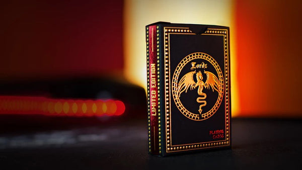 Master Series Dark Lordz Playing Cards by De'Vo Rare Foil Limited Edition