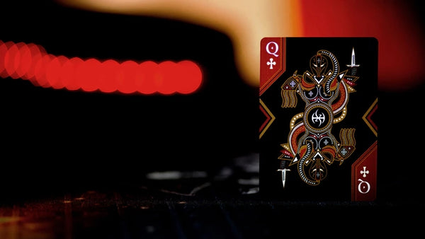 Master Series Dark Lordz Playing Cards by De'Vo Limited Edition Sealed
