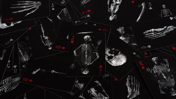 Buyworthy:Dead Soul Playing Cards Poker Magic Deck Undead Skeleton Edition Made in USA