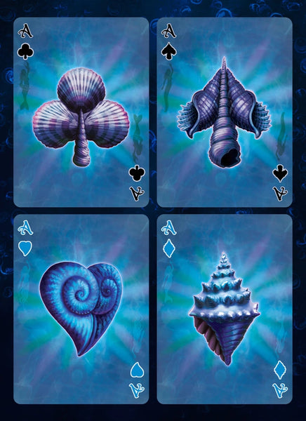 Deep Mermaid Playing Cards Rare Limited Edition Fantasy Deck