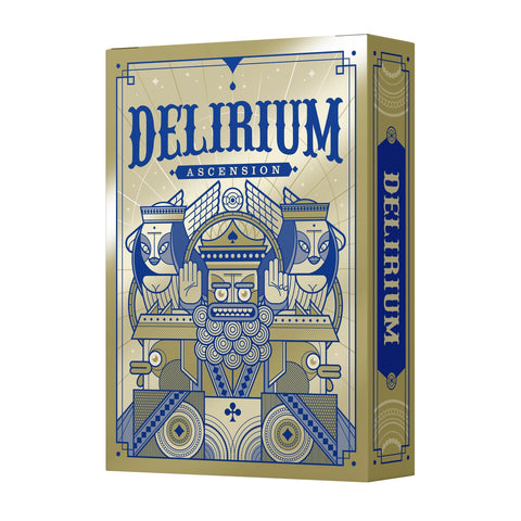 Delirium Ascension Playing Cards by Thirdway Italy Metallic Inks