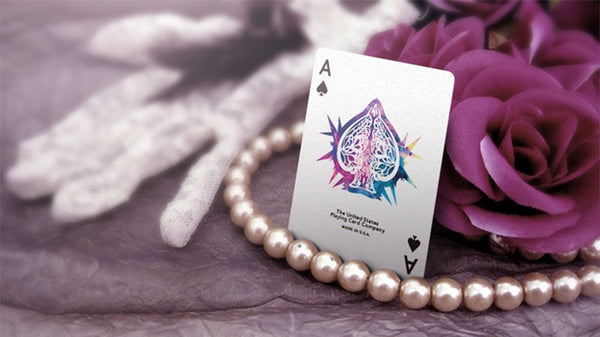Dentelle Playing Cards by BOCOPO Luxury Deck European Lace design