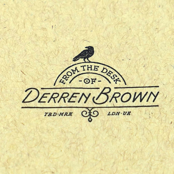 Derren Brown Playing Cards Luxury Special Edition Boxset 2-Decks + Letter