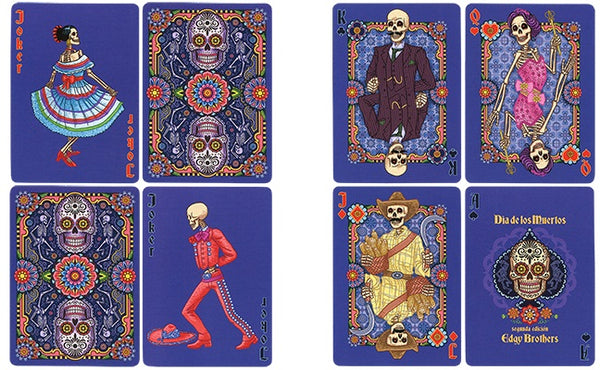 Dia de los Muertos Playing Card 2nd Edition Painted Deck