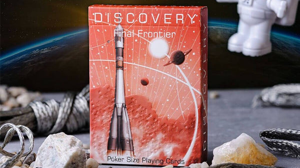 Discovery Final Frontier Playing Cards Red Russian Soviet Edition