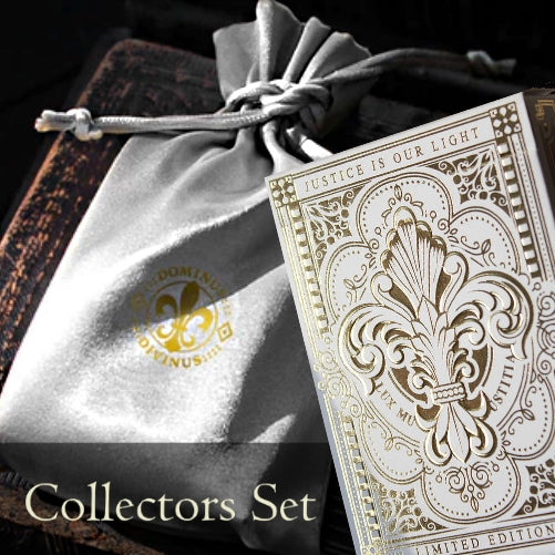 Dominus Divinus Rare Playing Cards Deck + Collectors Pouch