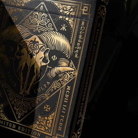 Dominus Obscura Playing Cards Darkness Edition Very Rare Sealed #0202