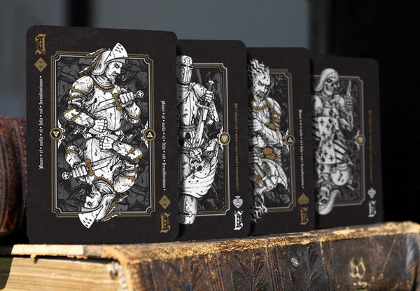 Dominus Obscura Rare Playing Cards Deck + Collectors Pouch
