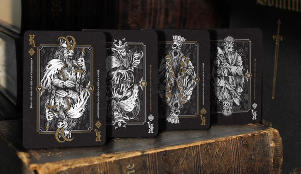Dominus Obscura Playing Cards Darkness Edition Very Rare