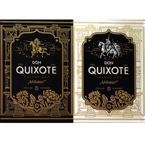 Don Quixote Playing Cards Vol. 1 Don & Hidalgo Edition ~ 2 Deck set