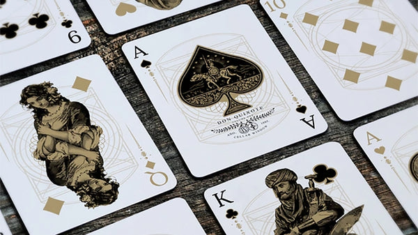 Don Quixote Playing Cards Vol. 1 Hidalgo Edition by Cellar Window