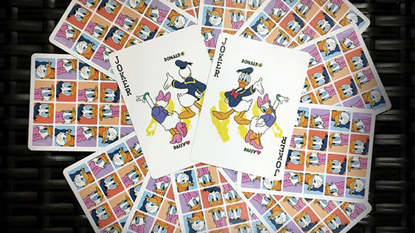 Donald and Daisy Playing Cards Official Disney Deck