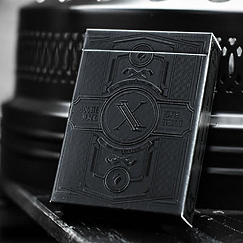 Double Black Playing Cards Waterproof Edition 100% Plastic