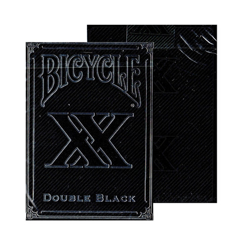 Double Black Playing Cards Bicycle Edition Original V1 deck