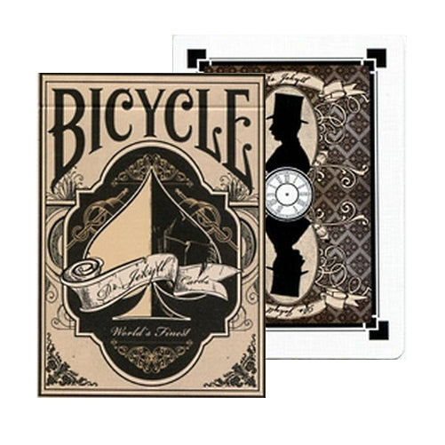 Dr Jekyll Playing Cards Bicycle Deck by Alakazam Magic