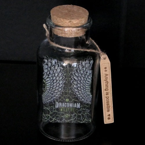 Draconian Green Dragon Impossible Glass Bottle Playing Cards deck sealed AIP