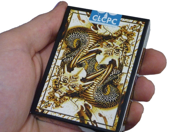 Buyworthy:Dragon Series Playing Cards GOLD Edition Poker Magic Deck ~ Japanese Artwork New