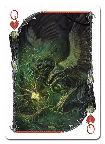Dragon Tome Playing Cards Fantasy deck by Albino Dragon USA