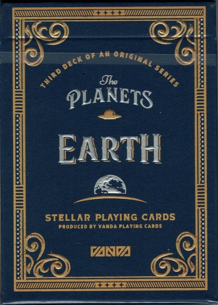 The Planets Earth Playing Cards Limited Edition Very Rare by Vanda