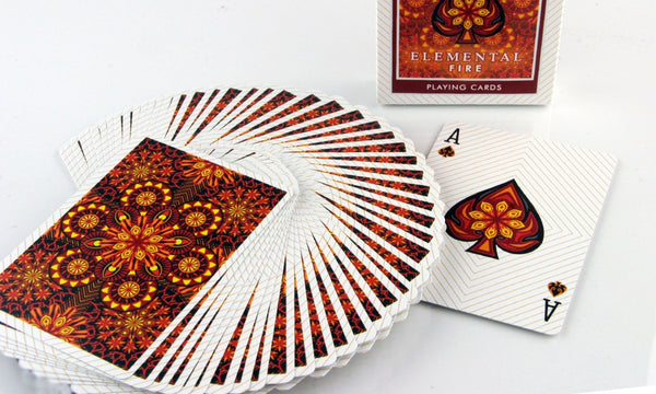Buyworthy:Elemental Fire Playing Cards Poker Magic Deck Made in the USA Brand New