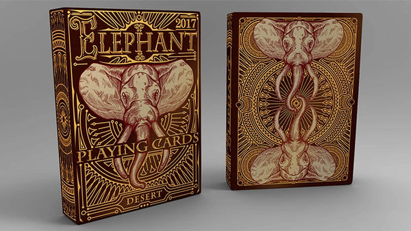 Elephant Playing Cards Desert Edition Sahara Elephant Deck