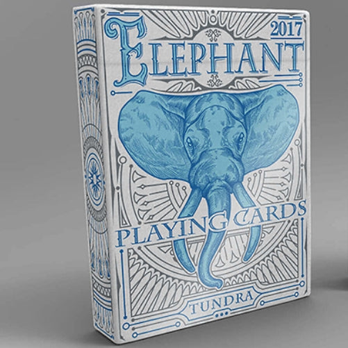 Elephant Playing Cards Tundra Edition Asian Elephant Deck