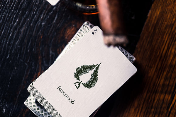 Republic No 3 Playing Cards Lost Angelus Edition by Jeremy Griffith