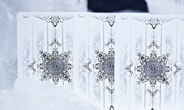 Buyworthy:Artifice Tundra Playing Cards Ellusionist White Edition Deck Brand New & Sealed