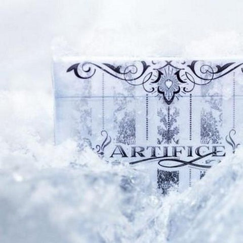 Artifice Tundra Playing Cards Ellusionist White Edition Deck