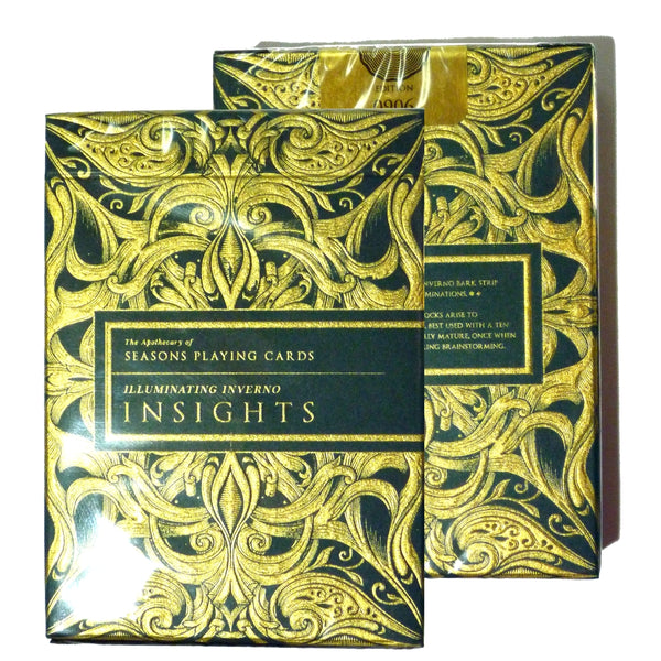 Emerald Insights Playing Cards Rare Sealed Numbered Hand Gilded