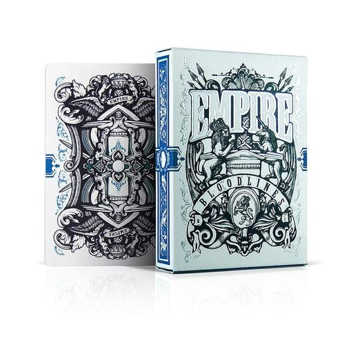 Empire Bloodlines Royal Blue Playing Cards