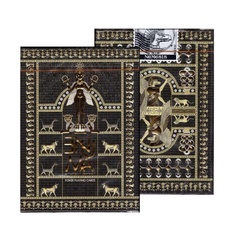 Enuma Playing Cards Ancient Edition Ancient Egyptian Deck by Nemesis Factory