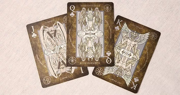 Enuma Playing Cards Ancient Edition Ancient Babylonian Deck by Nemesis Factory