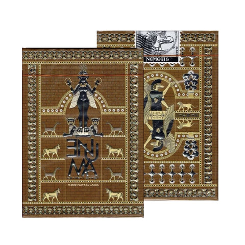 Enuma Playing Cards Elder Edition Ancient Egyptian Deck by Nemesis Factory