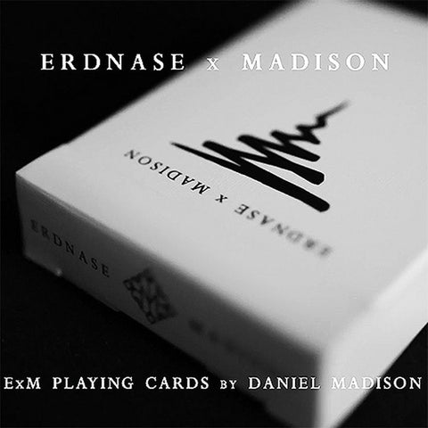 Buyworthy:Erdnase X Madison Playing Cards ~ Black Edition Magic Deck ~ Made in USA