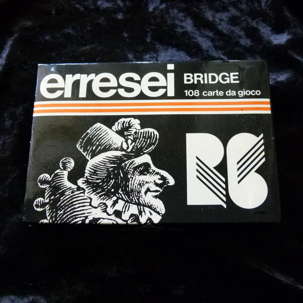 Erresei Bridge 108 Vintage Playing Cards Rare 2 Deck Set Made in Italy