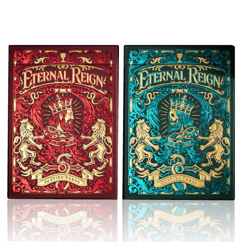 Eternal Reign Playing Cards Riffle Shuffle Premium Collectors 2-Deck Set