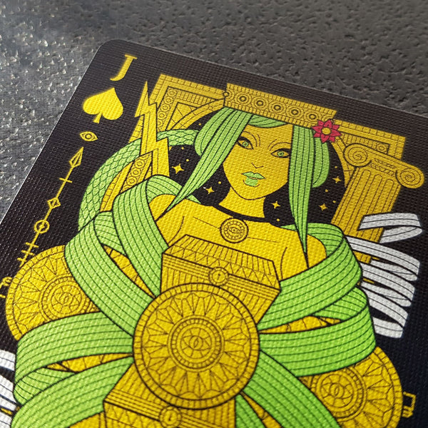 Eva Noire Playing Cards Thirdway Alternative Edition Metallic Inks