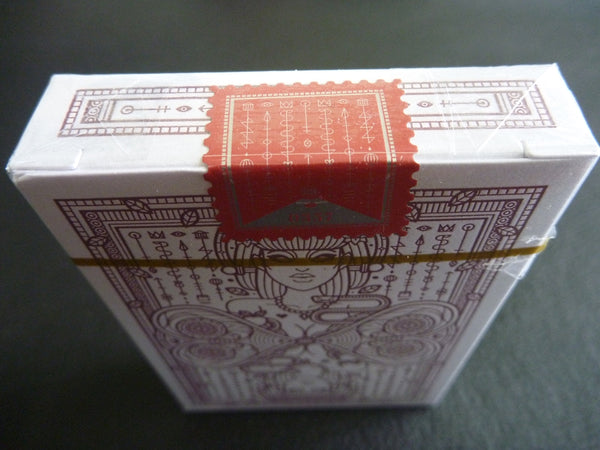 Eva Playing Cards Rare Sealed Edition in a Impossible Glass Bottle AIP
